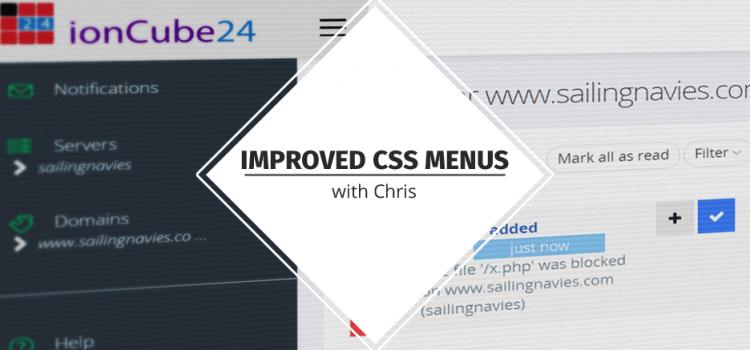 Improved CSS Menus with Chris
