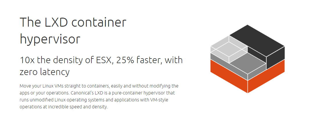 LXD and virtualbox