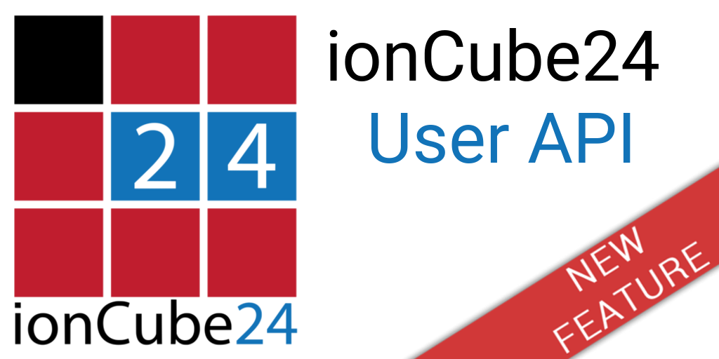 ionCube24 User API New Feature