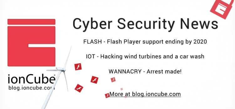Weekly Cyber Security News 04/08/2017