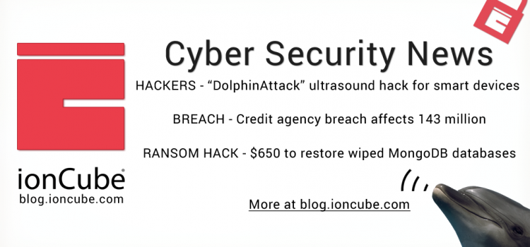 Weekly Cyber Security News 08/09/17