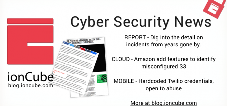 Weekly Cyber Security News 10/11/2017