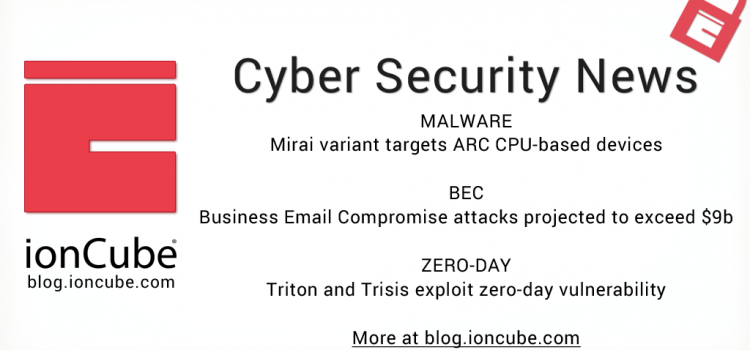 Weekly Cyber Security News 19/01/2019