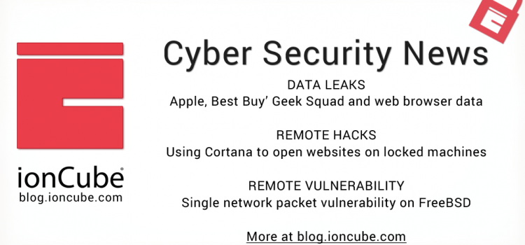 Weekly Cyber Security News 09/03/2018