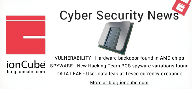 Weekly Cyber Security News 16/03/2018