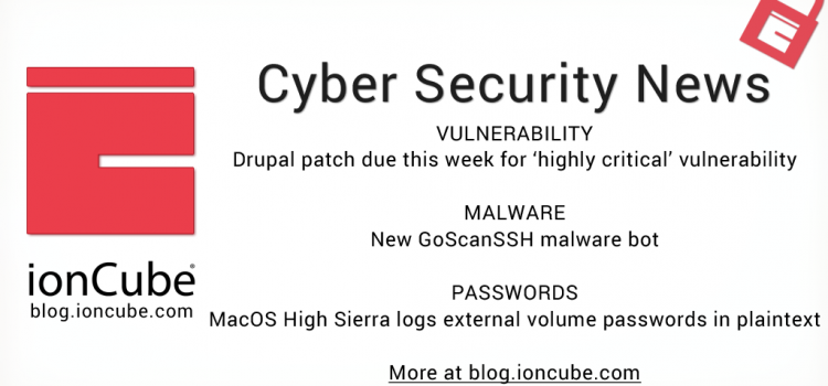 Weekly Cyber Security News 29/03/2018