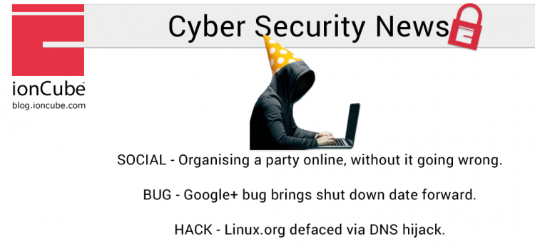 Weekly Cyber Security News 14/12/2018