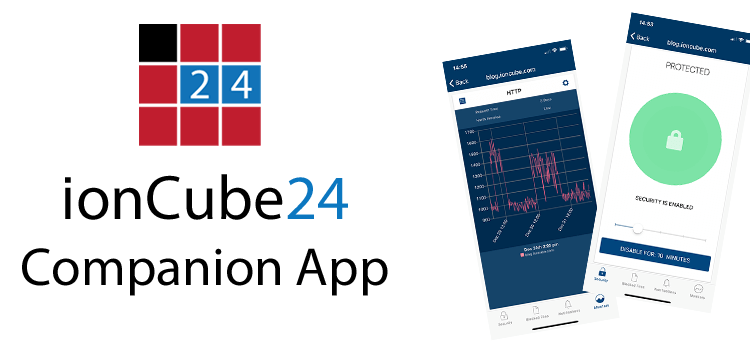 New Release: ionCube24 App for iOS and Android